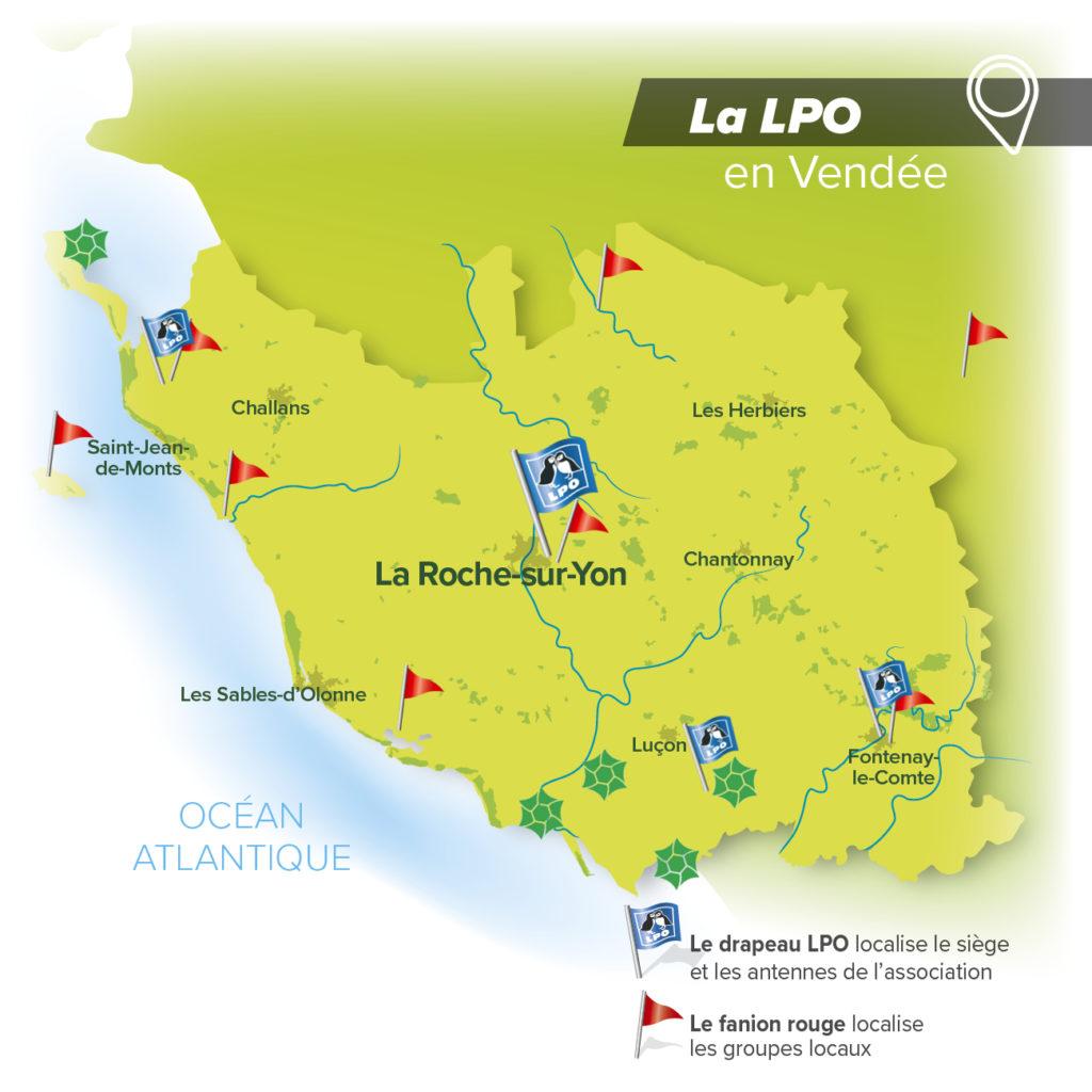 La LPO en Vendée