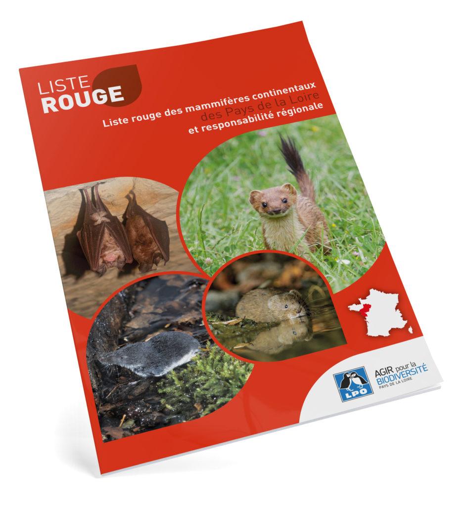 Liste rouge des mammifères continentaux des Pays de la Loire